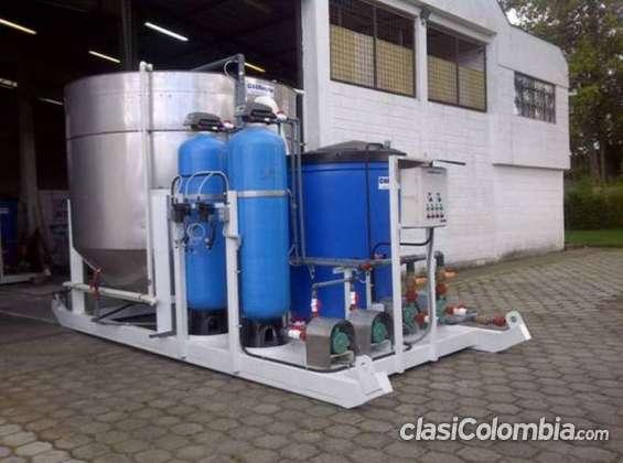 Fabricacion de plantas desalinizadoras de agua