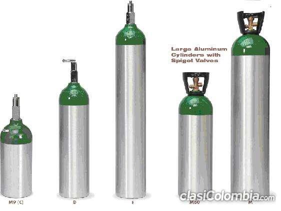 Venta de cilindros de oxigeno medicinal e industrial