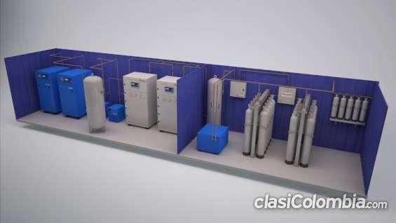 Venta de plantas generadoras de nitrogeno industrial