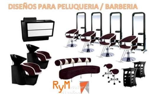 Mobiliario para peluquerías